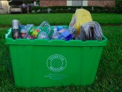 City of Houston Curbside Recycling Program: 901 Bagby, Houston, TX