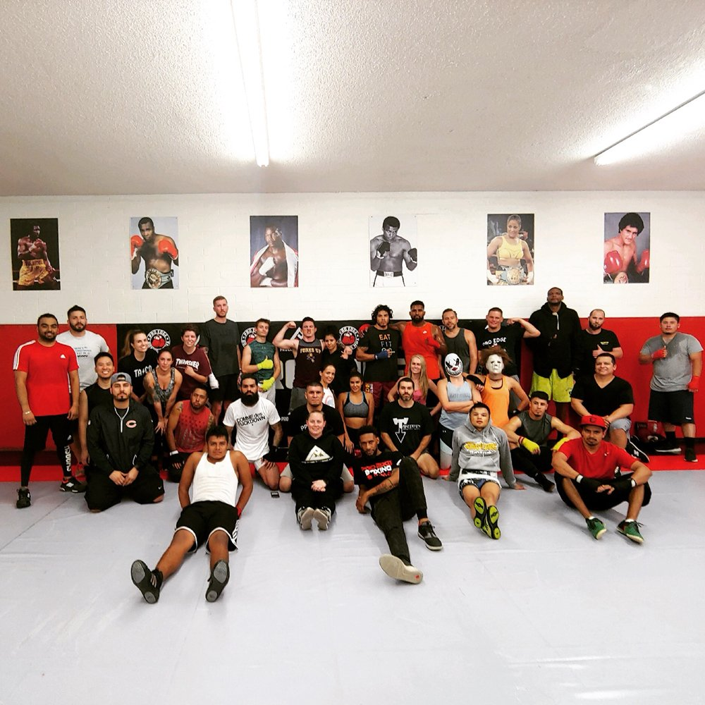 Pro Edge Boxe, MMA e Jujitsu brasiliano