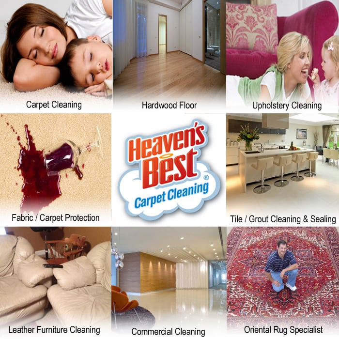 Heaven's Best Carpet Cleaning Columbus: 2853 Fairlane Ave, Columbus, NE
