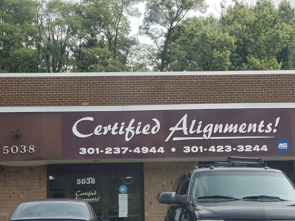 Certified Alignments: 5038 Beech Pl, Temple Hills, MD