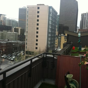 Photo Of Moda Apartments Seattle Wa United States View From The Rooftop
