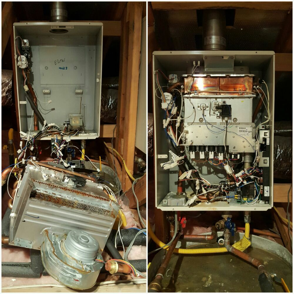 Heat Exchanger And Burner Replacement On Noritz Tankless