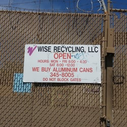 wise recycling llc Wise Recycling - Recycling Center - 2701 2nd St NW, North Valley/Los ...