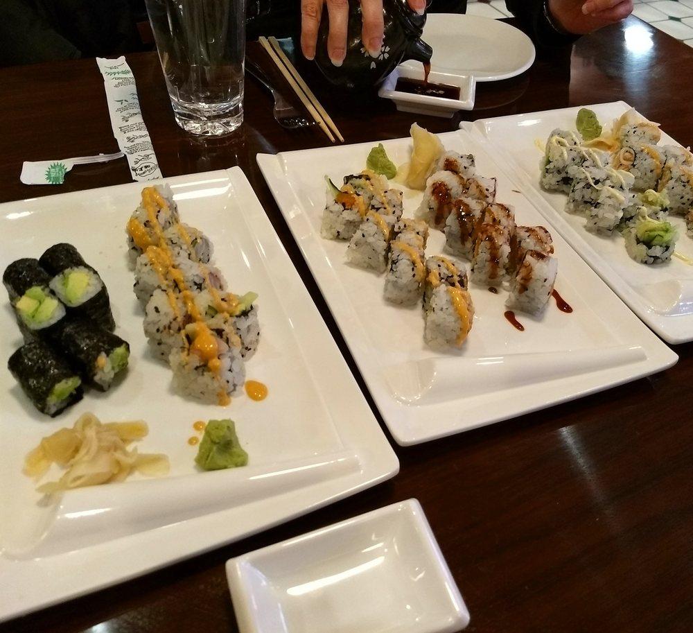 Food from Fuji San Japanese