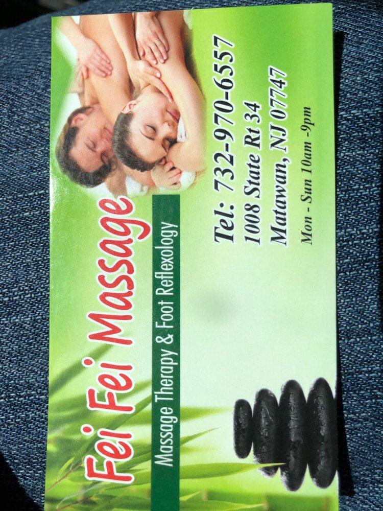 Oriental Massage: 1008 State Rt 34, Matawan, NJ