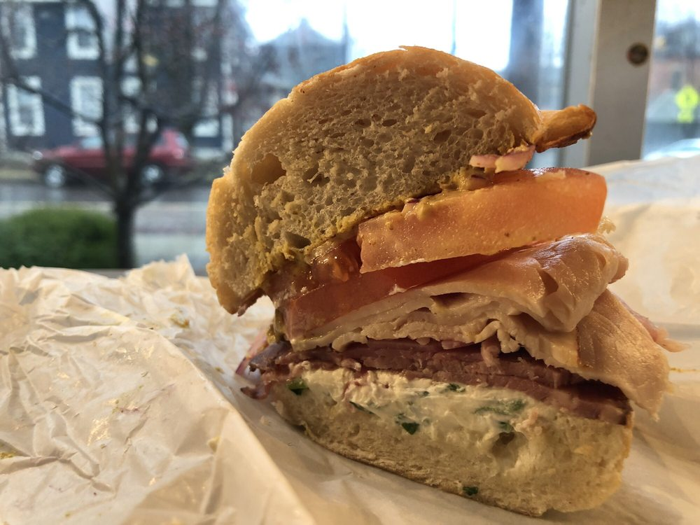 Food from Brown Bag Deli