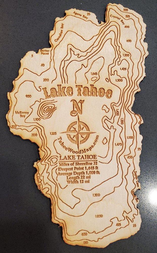 Tahoe Wood Maps: 130 Woodland Ave, Reno, NV