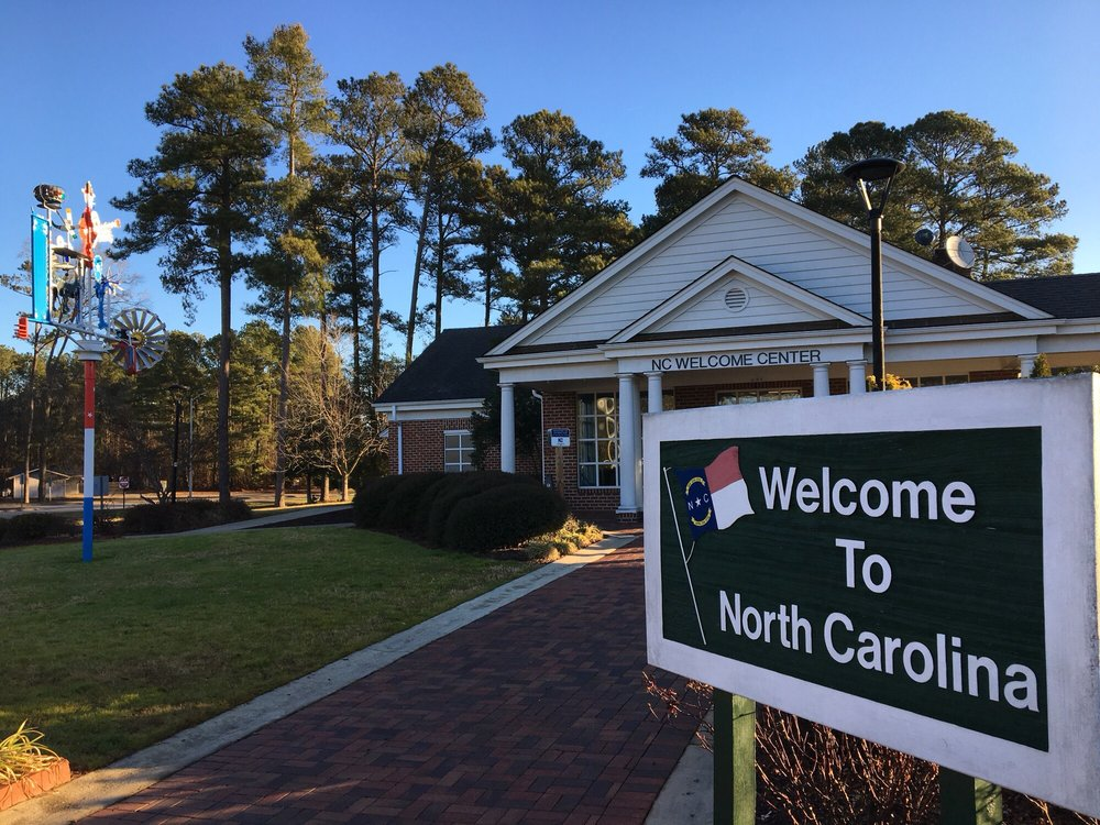 North Carolina Welcome Center: 1 I-95 Southbound Hwy, Pleasant Hill, NC