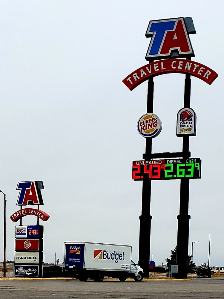 TravelCenters of America: 4000 I-80 Service Rd, Cheyenne, WY