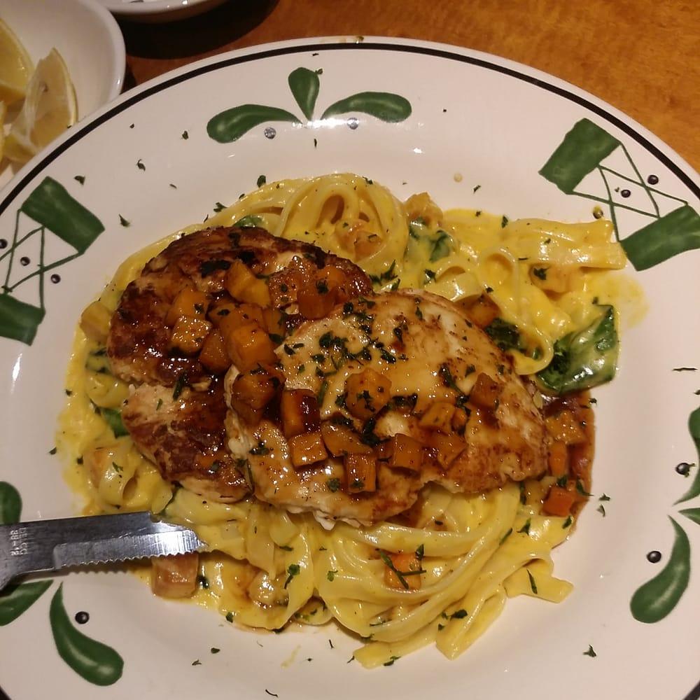 Grilled Chicken Butternut Squash Alfredo Fettuccine - Yelp