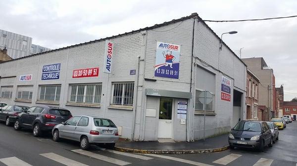 Autosur Contr u00f4le Technique 108 rue Turgot, Bois Blancs, Lille, France Numéro de téléph # Controle Technique Bois Guillaume