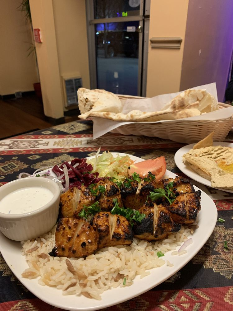 Food from istanbul grill