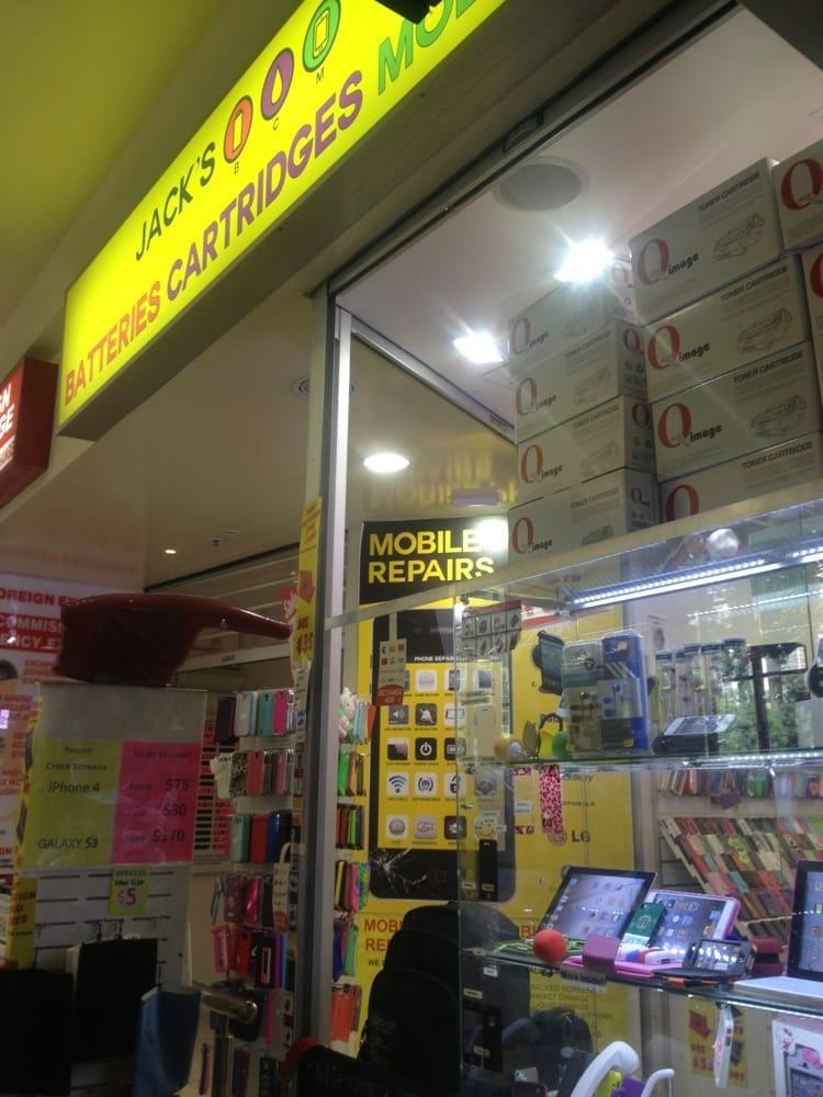 Jack's Phone: Shop 36, Anzac Square Arcade, Brisbane, QLD