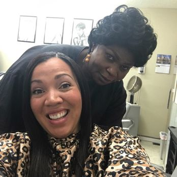 Ebony & ivory hair salon