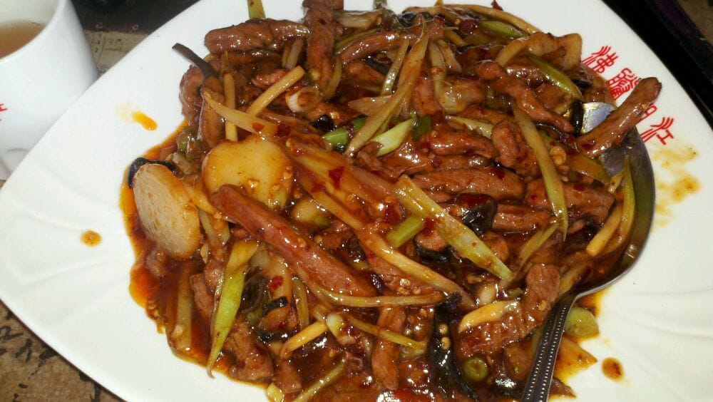 Beef and hot garlic sauce yelp for 100 degree chinese cuisine