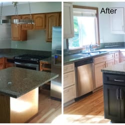 Photo Of McManus Cabinet Refacing   Tallahassee, FL, United States. Before  And After