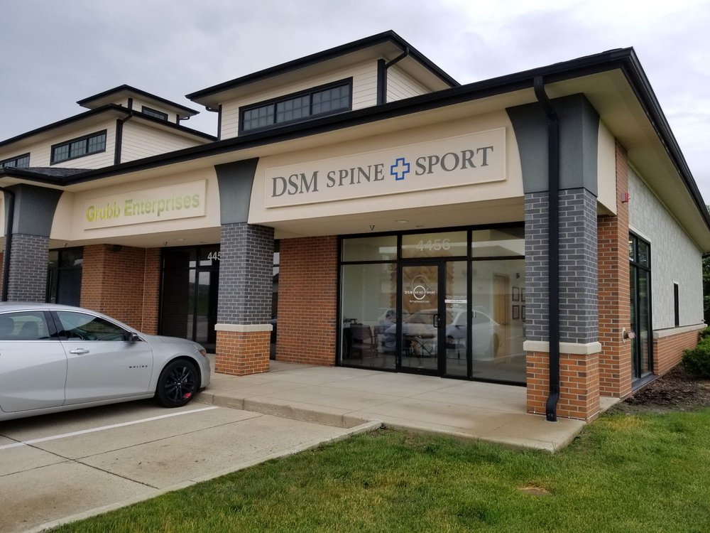 DSM Spine Sport: 4456 NW 128th St, Urbandale, IA
