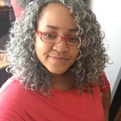 Crochet Braids Grey Hair : Crochet Braids By Twana - Fredericksburg, VA, United States. So I went ...