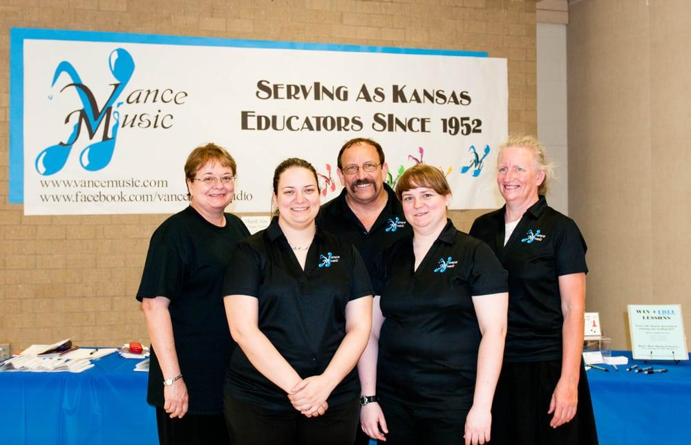 Vance Music: 1508 W 19th St N, Wichita, KS