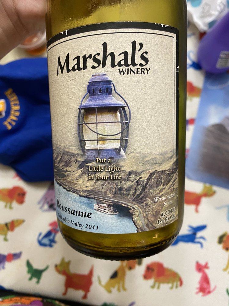 Marshal's Winery: 158 Oak Creek Dr, Dallesport, WA
