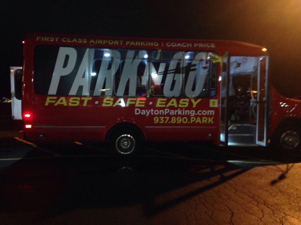Park-N-Go Airport Parking: 2700 W National Rd, Dayton, OH