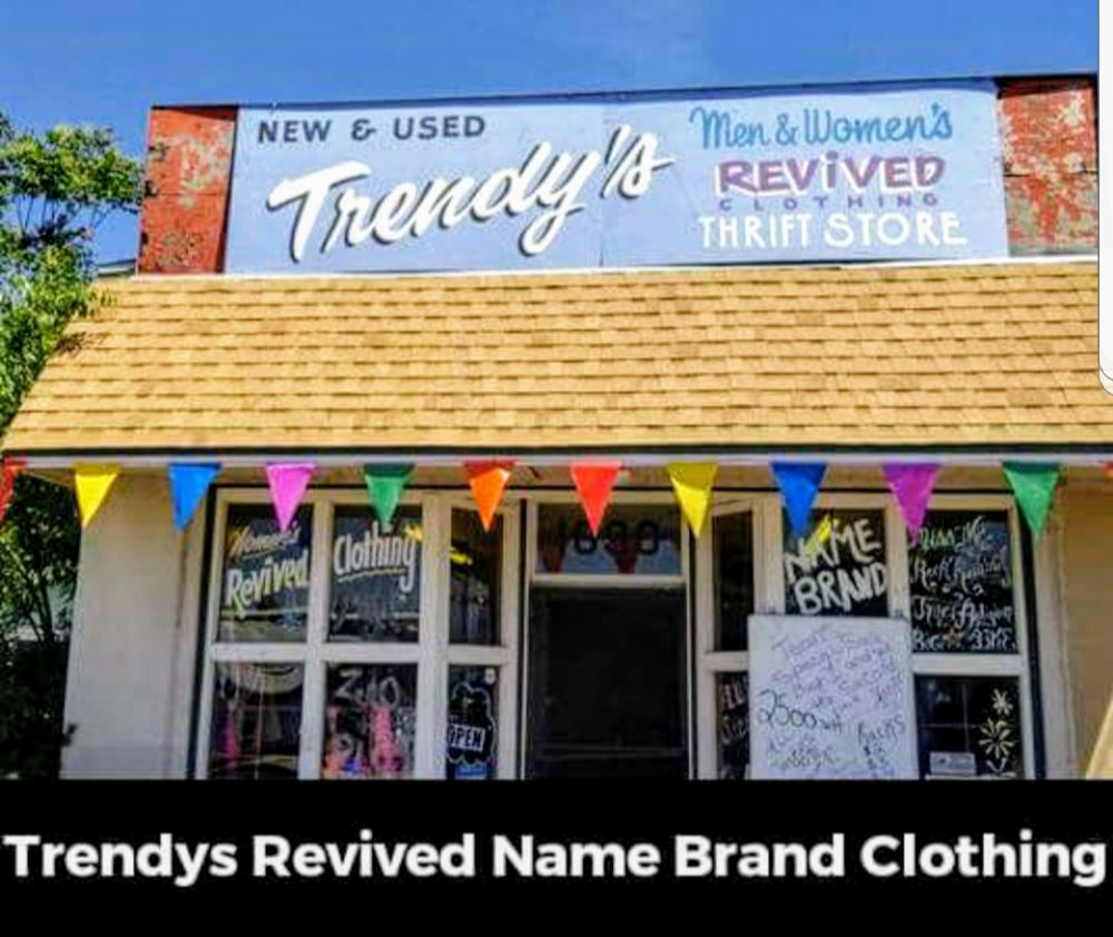 Trendys revived clothing: 1690 Mitchell Ave, Oroville, CA