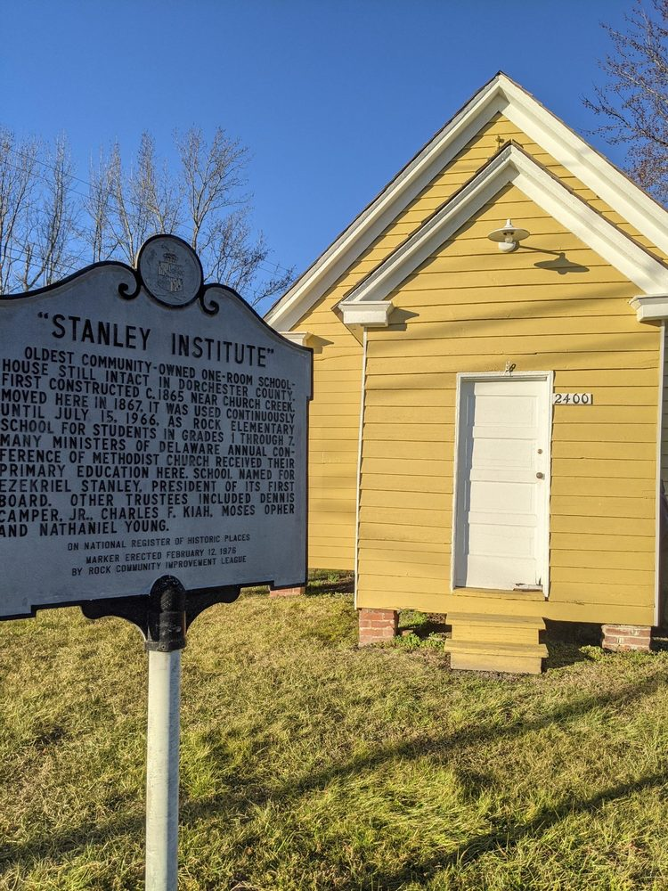 Stanley Institute Museum: West & Bayly Rd, Cambridge, MD