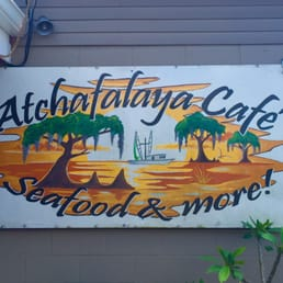 Atchafalaya Cafe Morgan City Menu