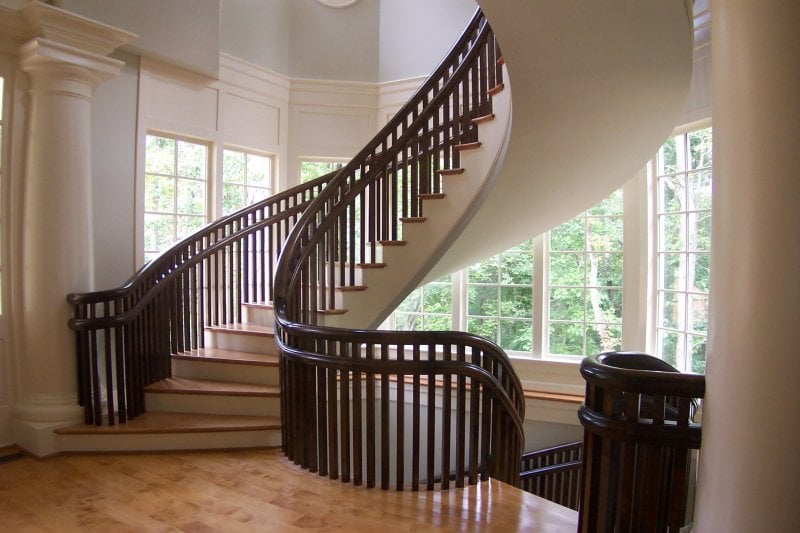 Photo Of Southern Staircase   Alpharetta, GA, United States. Grand  Staircases,curved