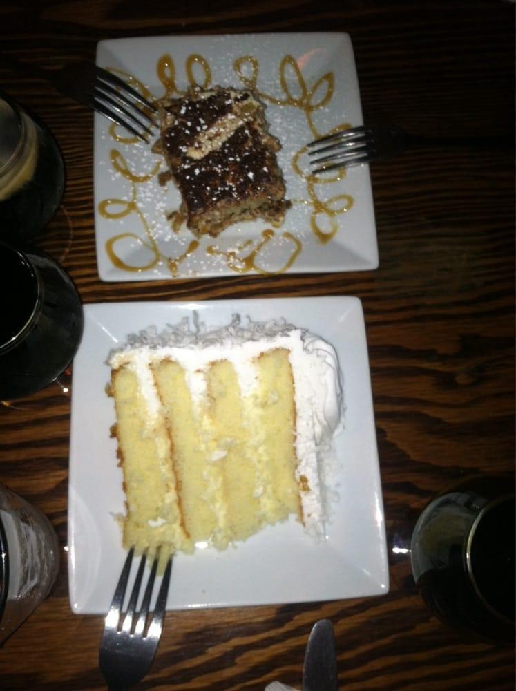coconut cake and tiramisu yelp