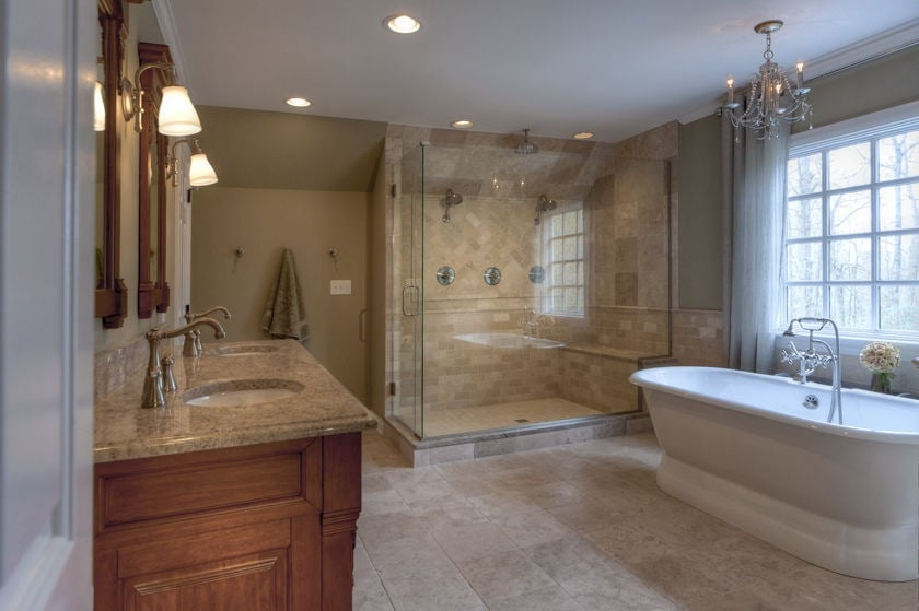 Dever design build llc contractors willoughby oh for Residential bathroom remodeling