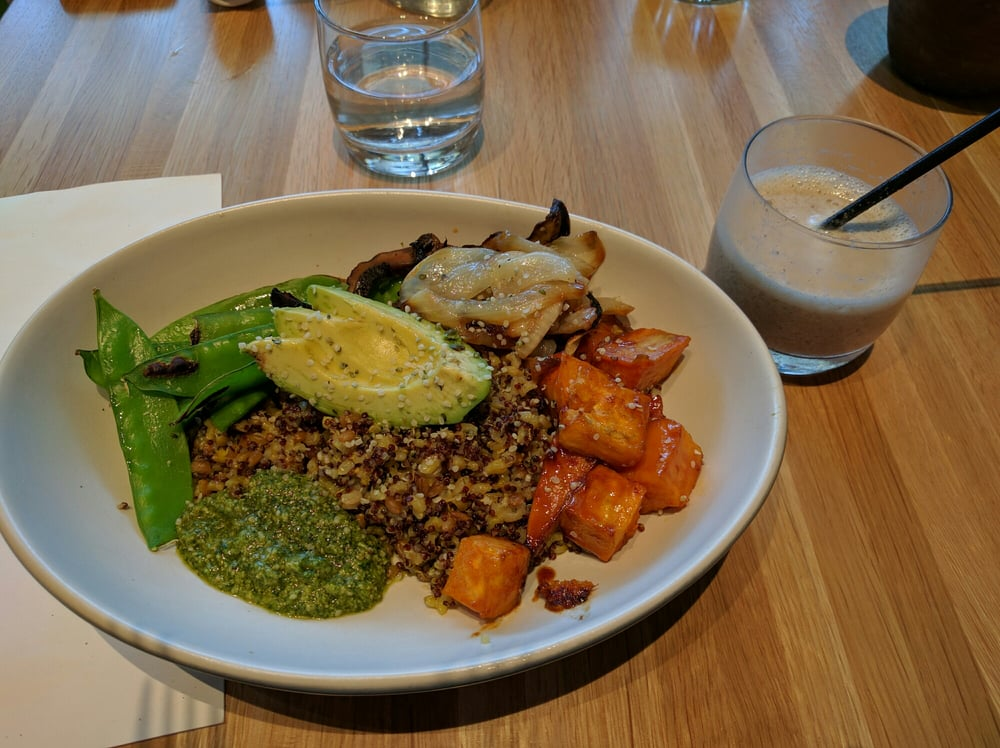 True Food Kitchen Bowls ancient grains bowl with avocado and sweet potato - yelp