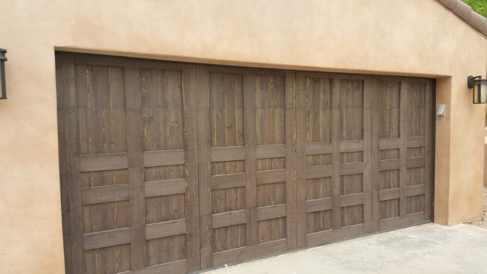 Custom Double Wood Overlay Garage Door Yelp