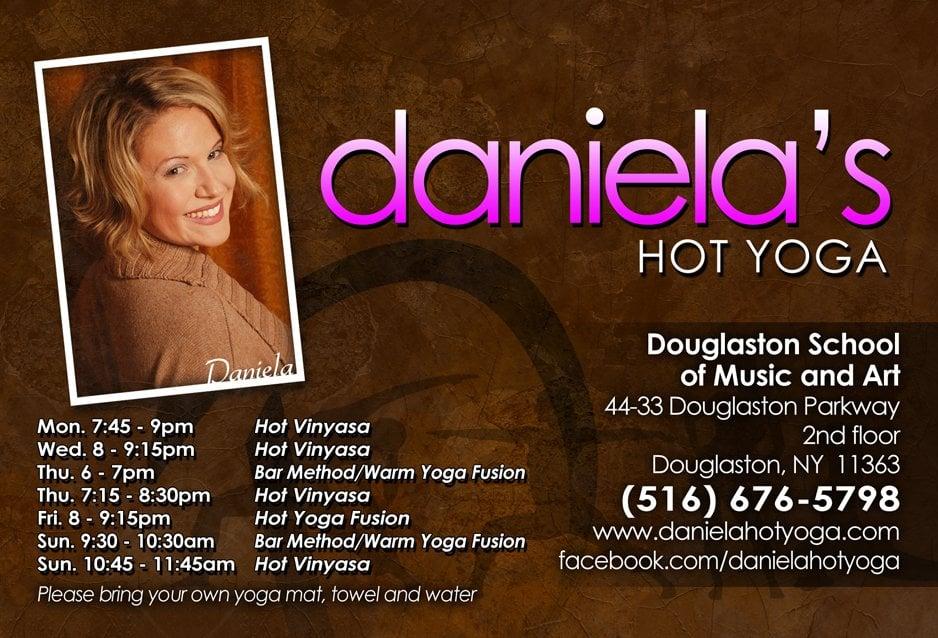 Daniela's Hot Yoga: 44-33 Douglaston Pkwy, Douglaston, NY