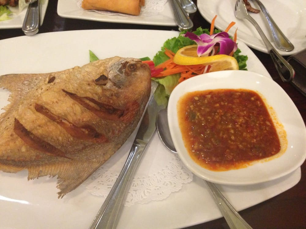 Crazy fish yelp for Ayara thai cuisine los angeles