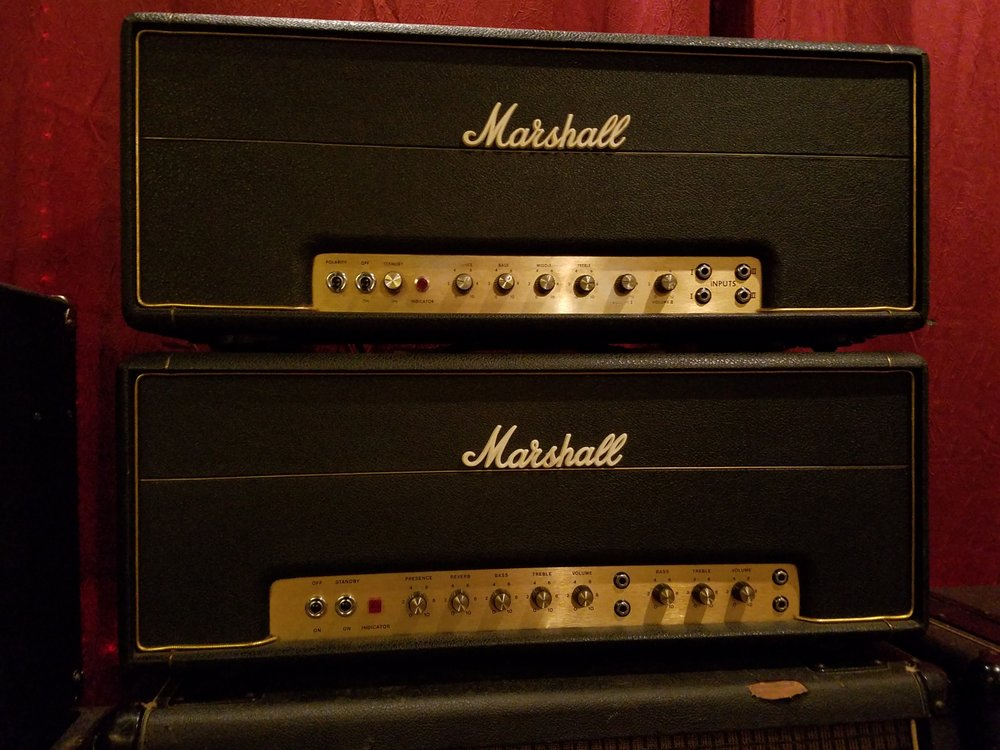 Couple of 70's Marshall amps - Yelp
