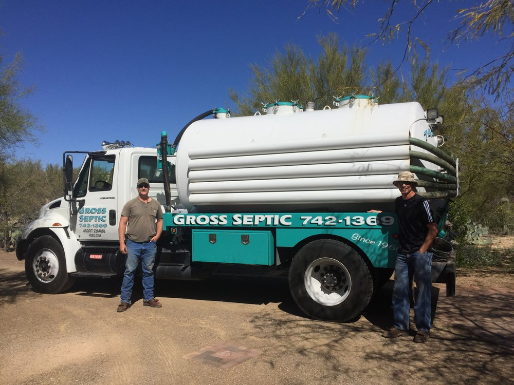 Gross Septic & Drain Service: 8701 N Burke Dr, Tucson, AZ
