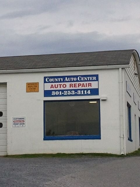 County Auto Center: 9916 Lewis Dr, Damascus, MD