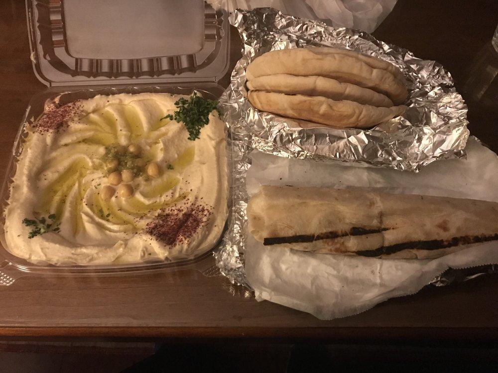 Food from Petra Falafel