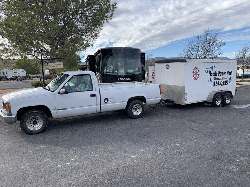 Gary's Mobile Power Wash: 3510 E Maybe Manana, Rimrock, AZ