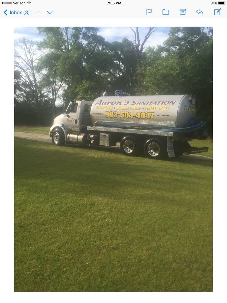 Aaron's Sanitation: Ben Wheeler, TX