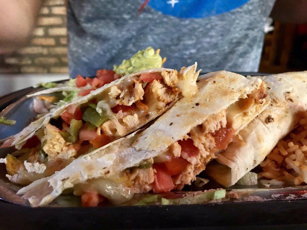 Food from Maria's New Mexican Kitchen