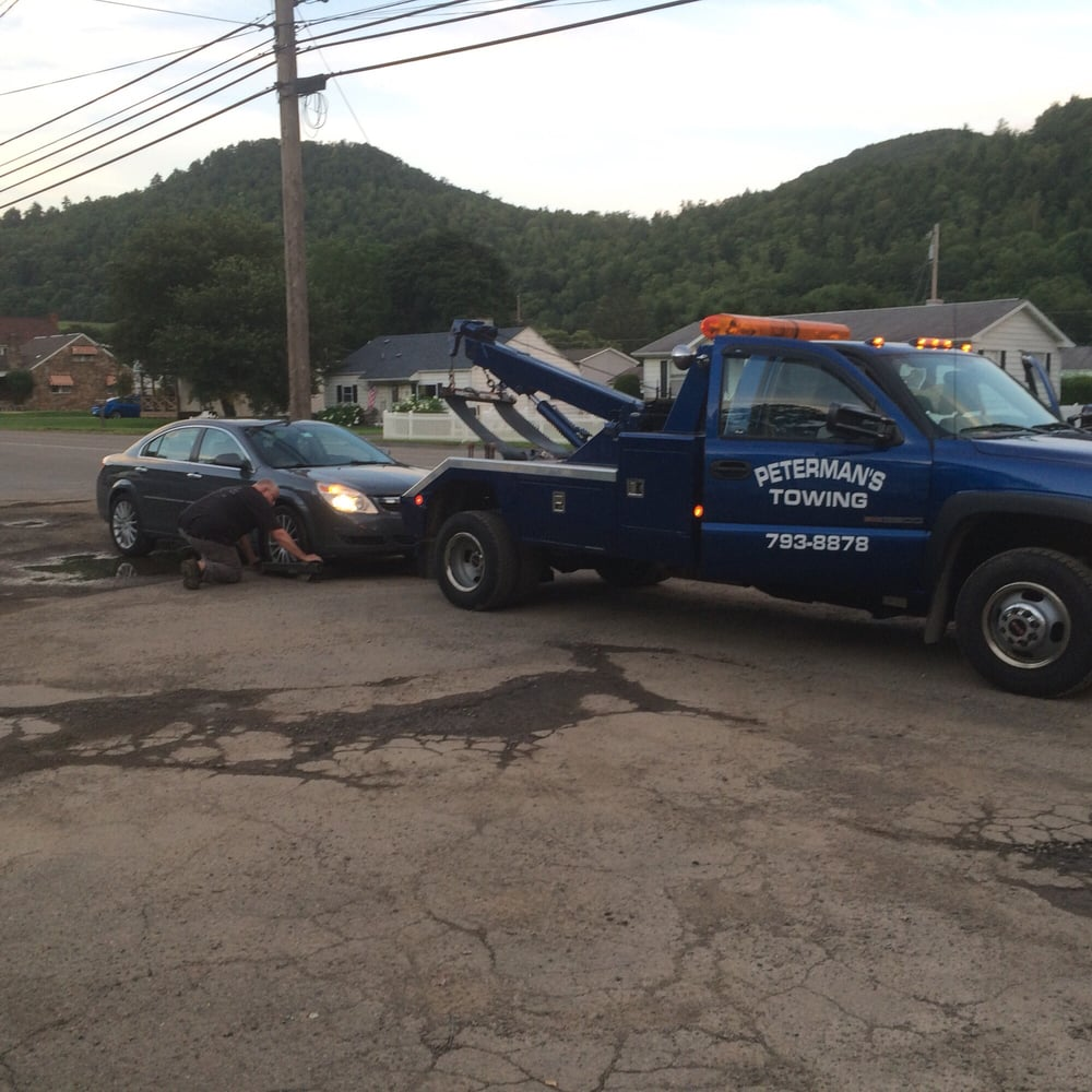 Towing business in Plum, PA
