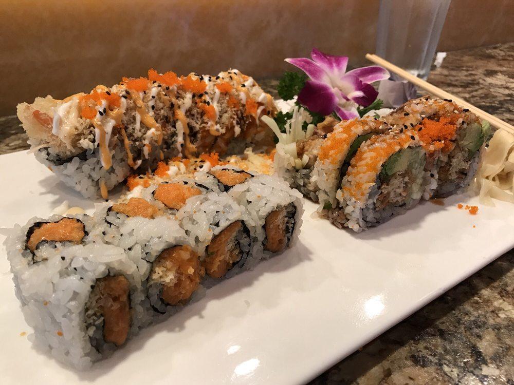 Fancy Sushi & Grill: 251 3rd St, Neptune Beach, FL