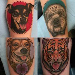 daa1666eff3ef Photo of Remington Tattoo Parlor - San Diego, CA, United States. Animal  tattoos
