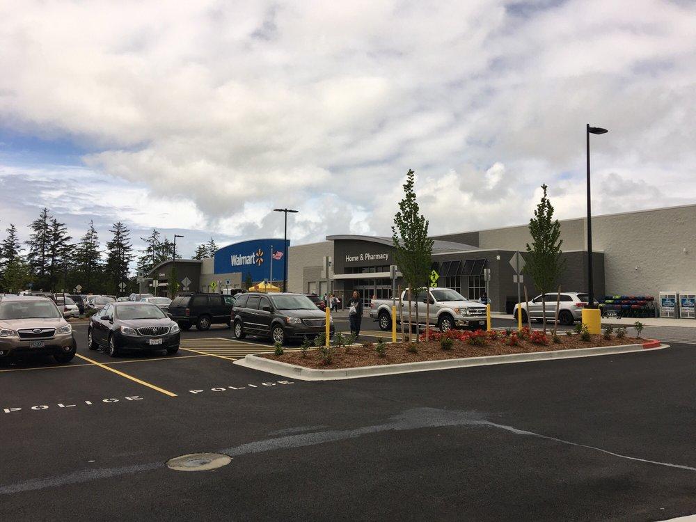 Walmart Supercenter: 1791 SE Ensign Ln, Warrenton, OR