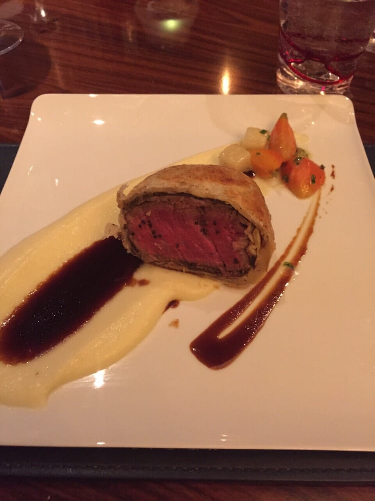 Hell\'s Kitchen Tasting Menu] Third Course - Roasted Beef ...