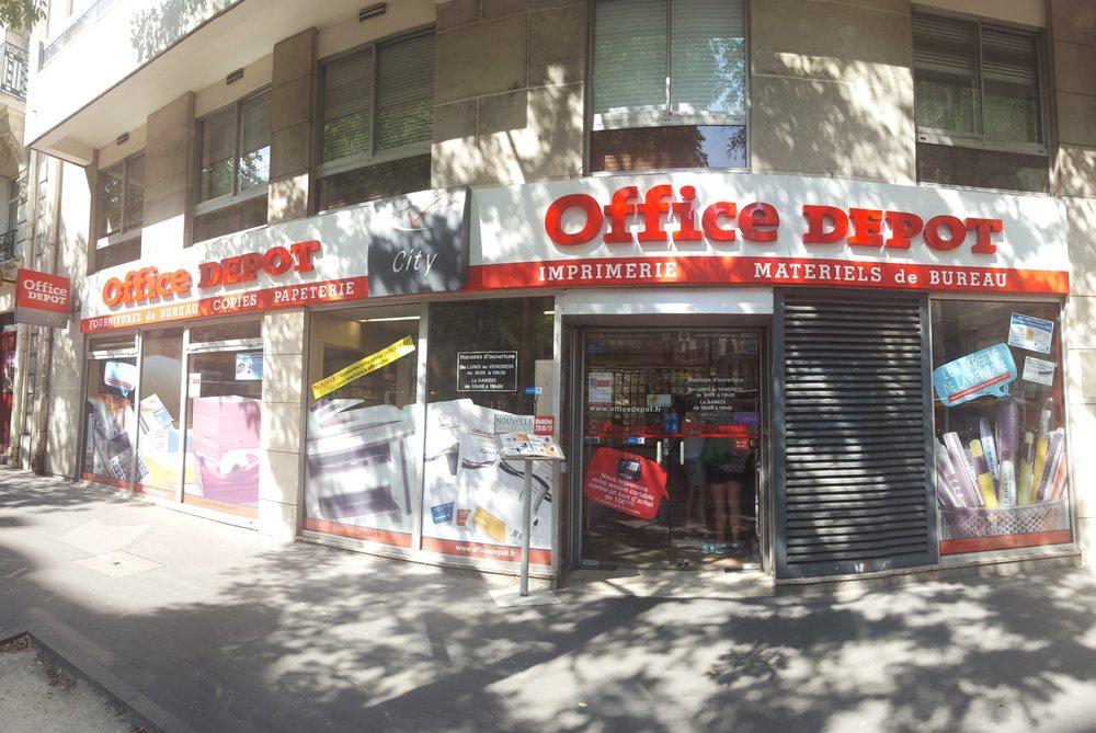 Office depot office equipment 44 rue dalésia 14ème paris