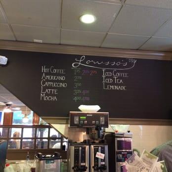 Lorusso S Cafe Newport Menu