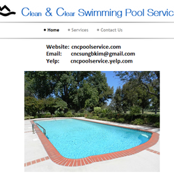 clean clear swimming pool service pool cleaners